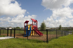 Playground at Elementary School Stock Image