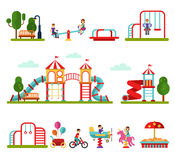 Playground elements Royalty Free Stock Image