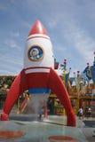 Playground for entertainment at Universal Studios Royalty Free Stock Photos
