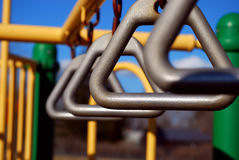 Playground equipment Stock Photo
