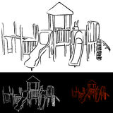 Playground Equipment Royalty Free Stock Photos
