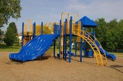 Playground Equipment. Schoolyard playground equipment Stock Image
