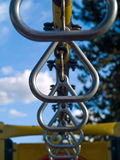Playground Equipment Closeup. Showing Detail on a Sunny Day Royalty Free Stock Image