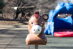 Playground equipment, a donky Stock Image