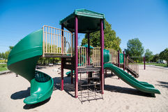 Free Playground Equipment In A Public Park Royalty Free Stock Photos - 26913228