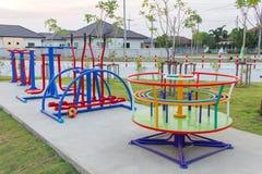 Playground equipment Stock Image