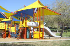 Playground Equipments Royalty Free Stock Images