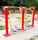 Playground for exercise Stock Photo