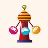 Playground facilities theme elements vector,eps. Vector illustration file Stock Photo