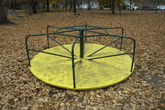 Playground in Fall Royalty Free Stock Images