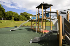 Playground forest background Stock Photography