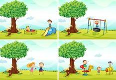 Playground stock illustration