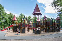 Playground in Frogner Park in Oslo Stock Photo