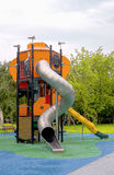 Playground for fun games and children`s education Royalty Free Stock Image