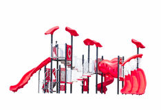 Playground fun set for kids isolated Stock Photos
