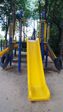 Playground in garden Stock Photography