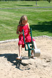 Playground Girl Royalty Free Stock Photography