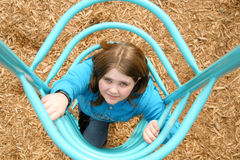 Playground girl Royalty Free Stock Photo