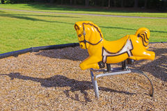 Playground Horse Stock Images