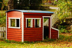 Playground house, Telemark, Norway Royalty Free Stock Images