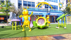 Playground at i-City Stock Images
