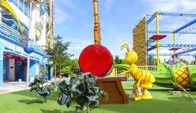 Playground at i-City Stock Image