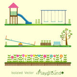 Playground icon isolate set Vector illustration. Stock Photo
