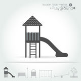 Playground icon isolate set Vector illustration. Royalty Free Stock Photos