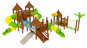 Playground illustration Stock Photography