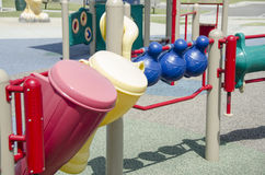 Playground instruments Stock Images