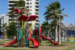 Playground in Iquique, Chile Royalty Free Stock Photos