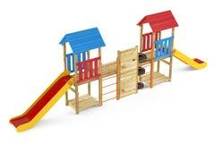 Playground isolated Stock Photos