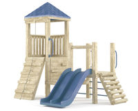 Playground isolated Stock Photography