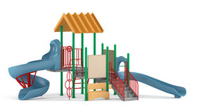 Playground isolated Stock Image