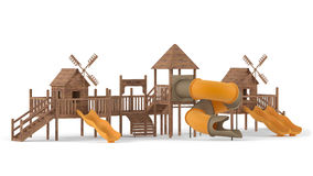Playground isolated Royalty Free Stock Photos