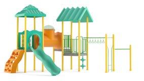 Playground isolated Royalty Free Stock Image