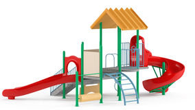 Playground isolated Stock Photo