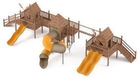 Playground isolated Royalty Free Stock Image