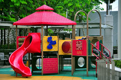 Playground for kids Royalty Free Stock Photos