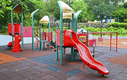 Playground for kids Stock Images