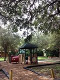 Playground. Kids colorful playground Stock Photo