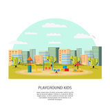 Playground Kids Concept Royalty Free Stock Photo