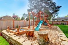 Playground for kids Stock Image