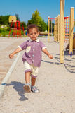 At the playground Stock Photography