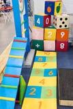Playground for little children Stock Image