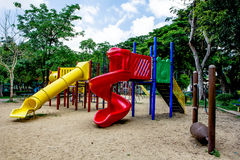 Playground. In lumpine park,  bangkok Royalty Free Stock Images
