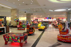 Playground in mall Stock Image