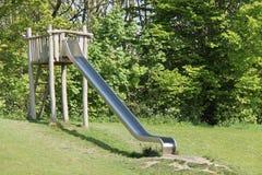 Playground Metal Slide. Stock Images
