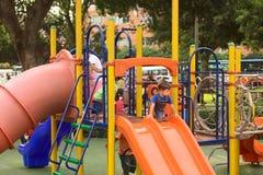 Playground in Miraflores, Lima, Peru Royalty Free Stock Image