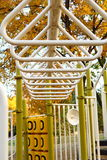 Playground monkey bars Royalty Free Stock Photography